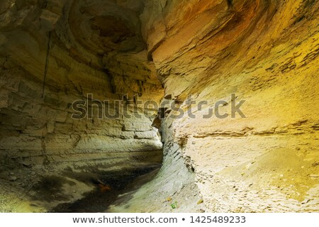 小 トンネル ビッグ 山 古い 歩行者 ストックフォト © Steffus