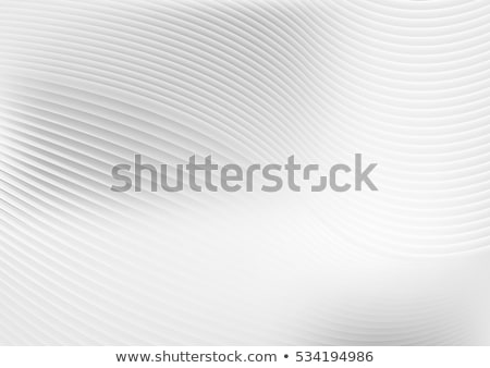 abstract smooth blurred grey waves on white background stock photo © saicle