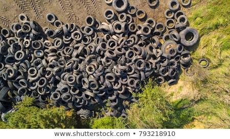 coche · ruedas · neumáticos · blanco - foto stock © lightsource