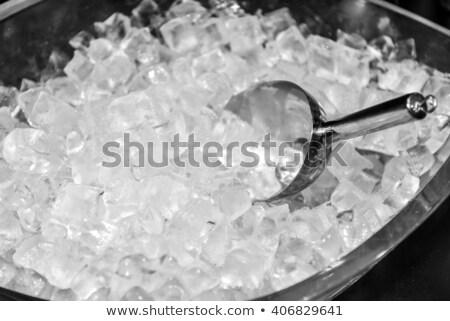 Cubo ilustración fondo beber jugo gráfico Foto stock © bluering