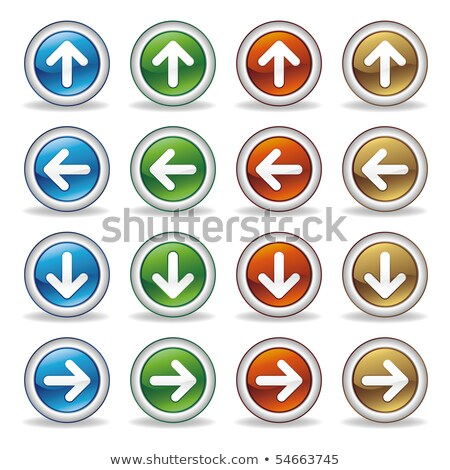 Buttons with arrows going upward Stock photo © bluering