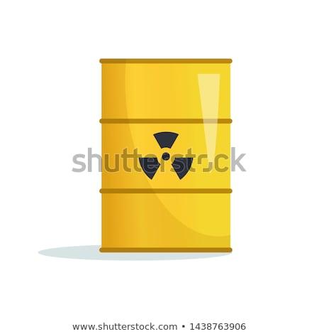 bioveszély · sugárzás · feliratok · formák · terv · zöld - stock fotó © timurock