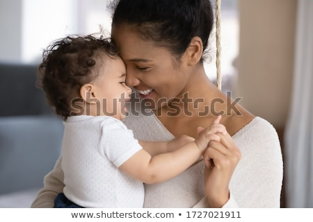 newborn baby in arms hold stock photo © zurijeta