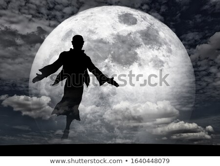 dancer in the moonlight Stock photo © adrenalina