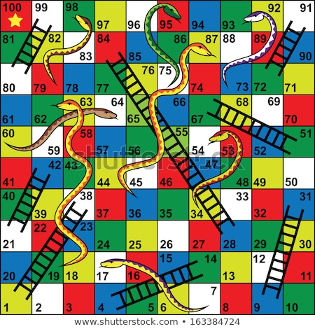 board game snake and ladder stock photo © bluering