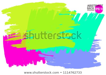 bright colorful hand paint stain vector design Stock photo © SArts