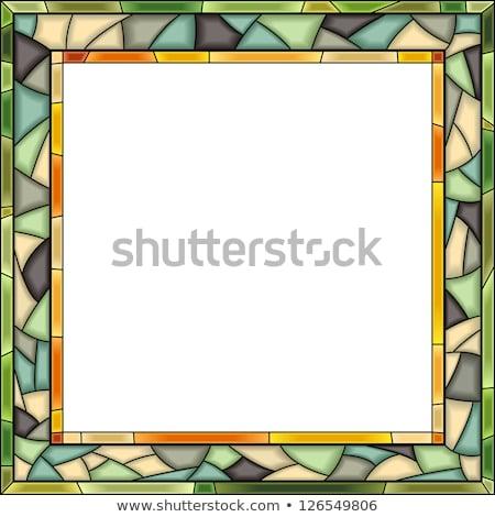 vektor · ablakkeret · fotózás · fény · stílus · lista - stock fotó © Vertyr