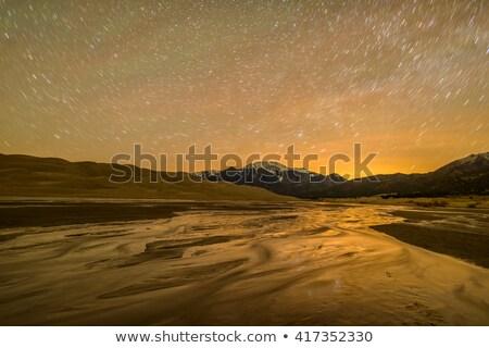 Mountains Above Great Sand Dunes Stock photo © pancaketom
