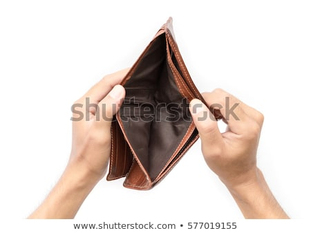 vacío · cartera · mujer · sin · dinero · compras · bolso - foto stock © simply