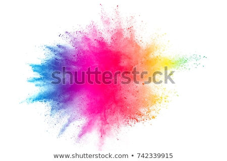 cor · salpico · colorido · pirâmide · três · abrir - foto stock © Fisher