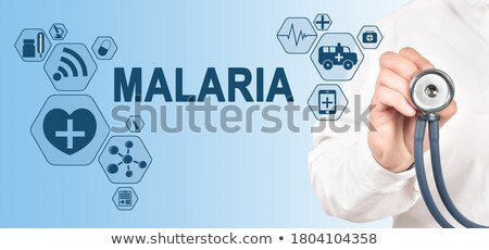 diagnosis   malaria medical concept stock photo © tashatuvango