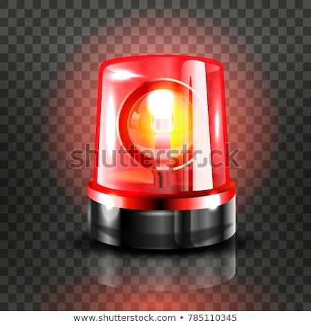 tűzjelző · izolált · fehér · háttér · fém · biztonság - stock fotó © maryvalery