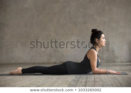 beautiful sportive female posing in sportswear stock photo © julenochek