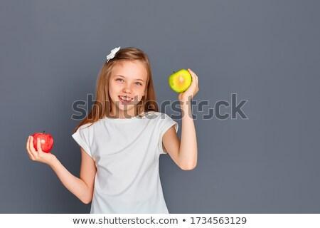 Differenze divertente mela gioco bambini trovare Foto d'archivio © Olena