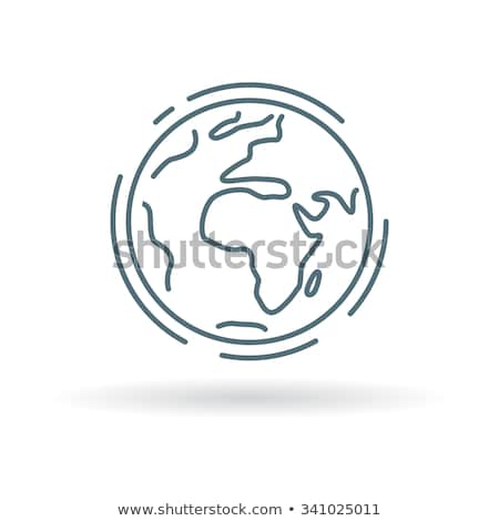 bestemming · icon · verschillend · stijl · vector · symbool - stockfoto © olena