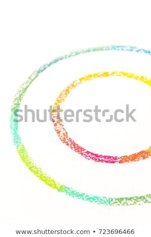 Photo deux coloré pastel Photo stock © deandrobot
