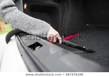 Vacuuming Car Trunk Stock photo © AndreyPopov