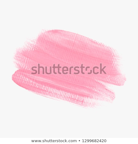 pink paint stroke stain vector background Stock photo © SArts
