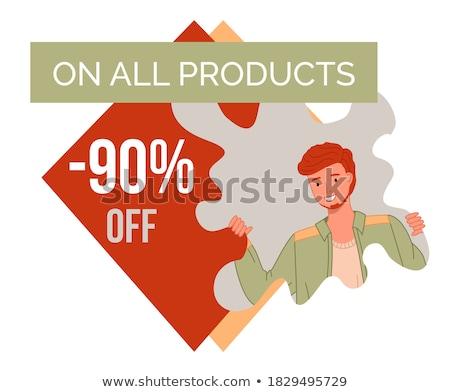 Best season proposition banner vector illustration Stock photo © studioworkstock