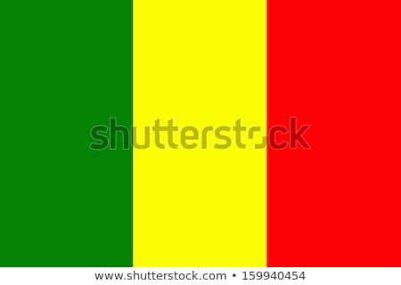 Mali flag. Vector Stock photo © butenkow