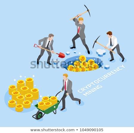 マイニング · 画像 · 技術 · ビジネス · 男 · 市場 - ストックフォト © stevanovicigor