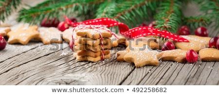 küçük · hediyeler · Noel · süsler · mutlu · eğlence - stok fotoğraf © barbaraneveu