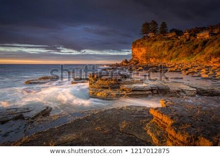 First light at Avalon Beach Stock photo © lovleah