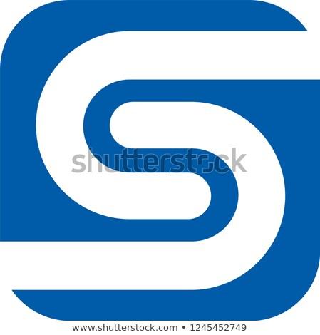 Intercambio monedas logo mercado emblema negocios Foto stock © tashatuvango