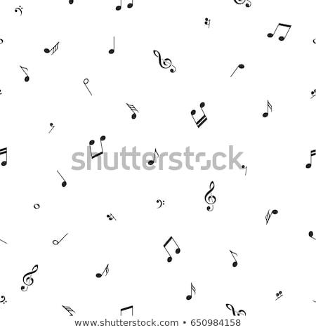 Design notes de musique illustration fond art Photo stock © colematt