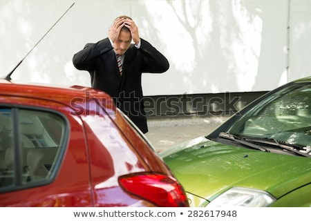 Tense Driver After Traffic Accident Stock photo © AndreyPopov