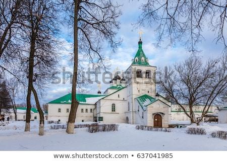Кремль Россия собора деревне старые Сток-фото © borisb17
