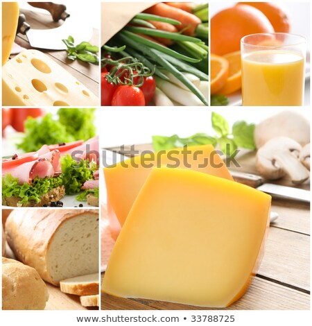 Food collage. Different type of meat Stock photo © furmanphoto