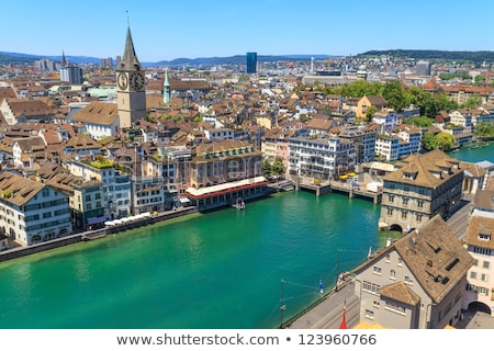Limmat river in Zurich Stock photo © borisb17