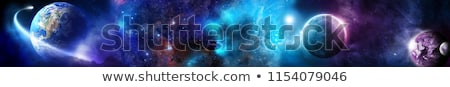Universo cena estrelas galáxias espaço exterior Foto stock © NASA_images