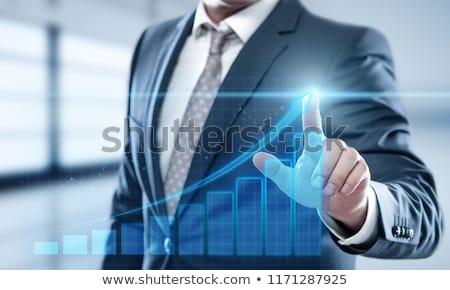 Sikeres pénzügyi siker alkalmas pénz megtakarított pénz Stock fotó © Kotenko