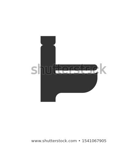 Kadın cinsiyet simge vektör ikon yalıtılmış Stok fotoğraf © smoki