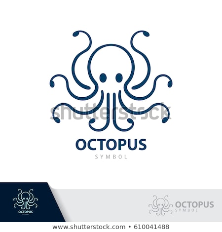 Vector octopus symbol icon design Stock photo © nickylarson974