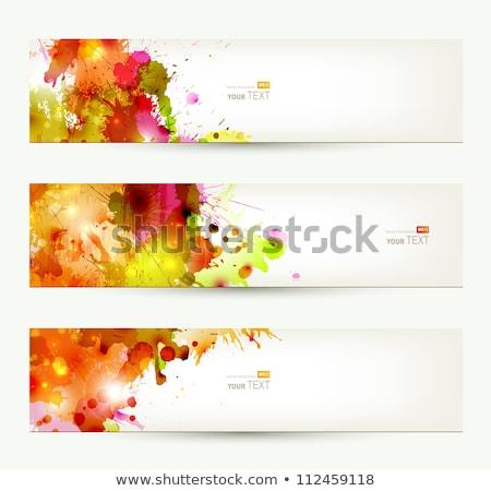 セット 3  カラフル 洗浄 背景 泡 ストックフォト © elly_l