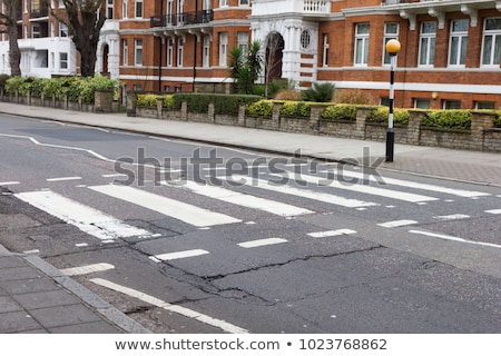 Abtei · Straße · London · Straßenschild · england · Musik - stock foto © claudiodivizia