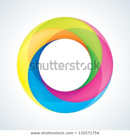 抽象的な 虹 色 黒 テクスチャ デザイン ストックフォト © cidepix