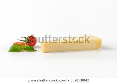 チェリートマト パルメザンチーズ 食品 木製 まな板 ストックフォト © aladin66