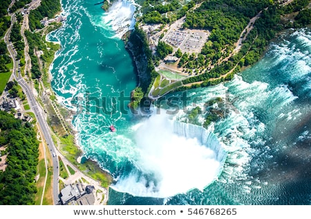 Niagara · Falls · water · natuur · Blauw · waterval - stockfoto © capturelight
