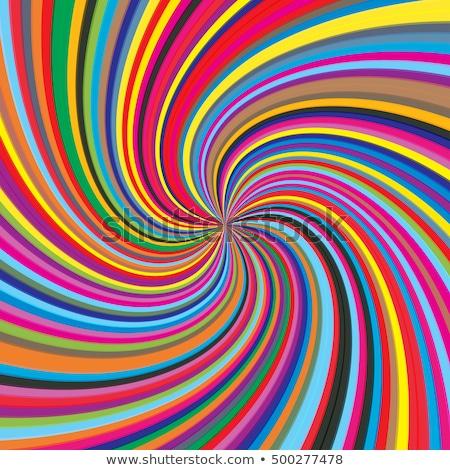 гипнотический цвета Swirl аннотация фон красный Сток-фото © latent