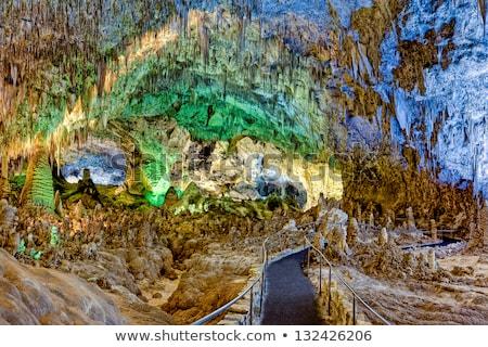 Caverna parque Nuevo México viaje rock oscuro Foto stock © alexeys