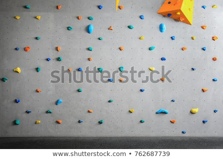 скалолазания стены домашний искусственный покрытый Сток-фото © franky242