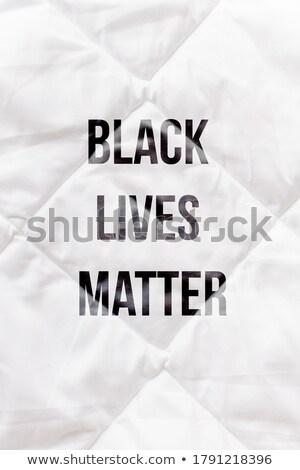 из расизм доске стороны мелом Сток-фото © bbbar