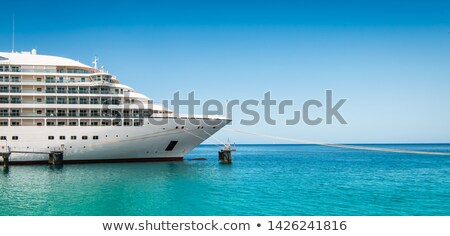 Ocean liner or sea yacht nose Stock photo © Hermione