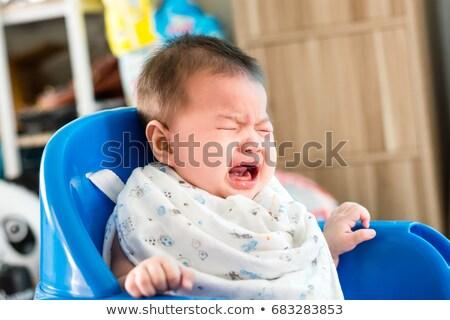 сердиться индийской ребенка мальчика белый глаза Сток-фото © ziprashantzi