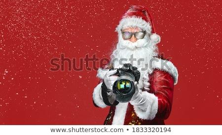 santa   the professional photographer stock photo © stockyimages