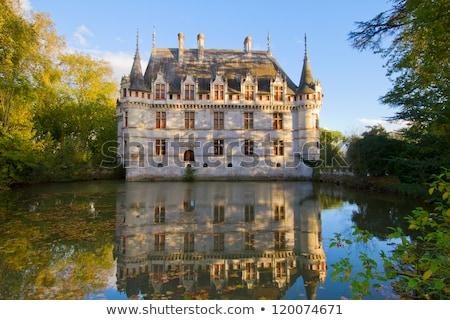 Azay-le-Rideau castle, France Stock photo © neirfy